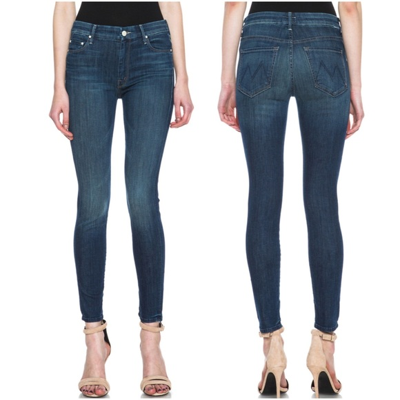 6be02e6c69a5 MOTHER Jeans   High Waisted Looker Ankle Skinny   Poshmark